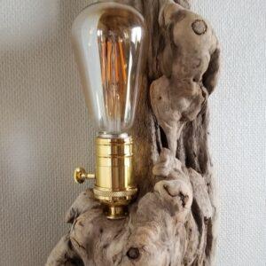 Applique en bois flotté bois entier